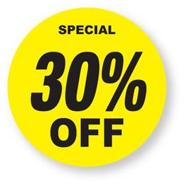 Stock Labels Gt Retail Labels Gt Discount 30 Off Labels