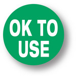 "QUALITY - OK to use (Green) 1.5"" diameter circle"