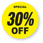 Discount - 30% Off Labels