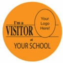 Visitor Labels - 5 Different Colors