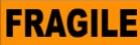 """FRAGILE - 1 1/2"""" X 6 1/2"""""""