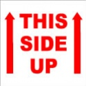 """THIS SIDE UP - 4"""" X 4"""""""