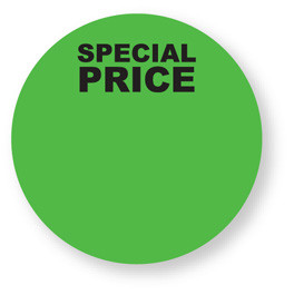 Special Pricing - Blank labels