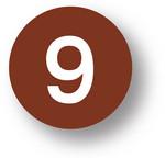 NUMBERS - 9 (Brown) 1.5