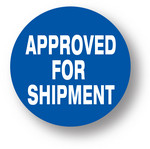SHIPPING- Approved for shipment (Blue)1.5