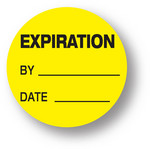 QUALITY - Expiration /By /Date (Yellow)1.5