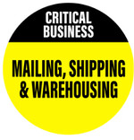 CRITICAL BUSINESS - MAILING, SHIPPING & WAREHOUSING
