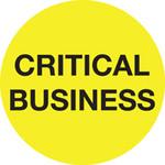 CRITICAL BUSINESS - GENERIC